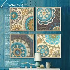 4 stück leinwand kunst moderne marokkanischen dekorative motive bilder für wohnzimmer dekorative bilder malerei poster und drucke