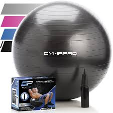 Yoga Ball Office Chair Amazon by Amazon Com Exercise Ball For Yoga Pilates Therapy Balance