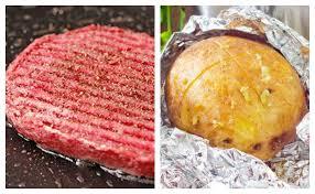 comment cuisiner un steak haché steak haché et frites maison wecook