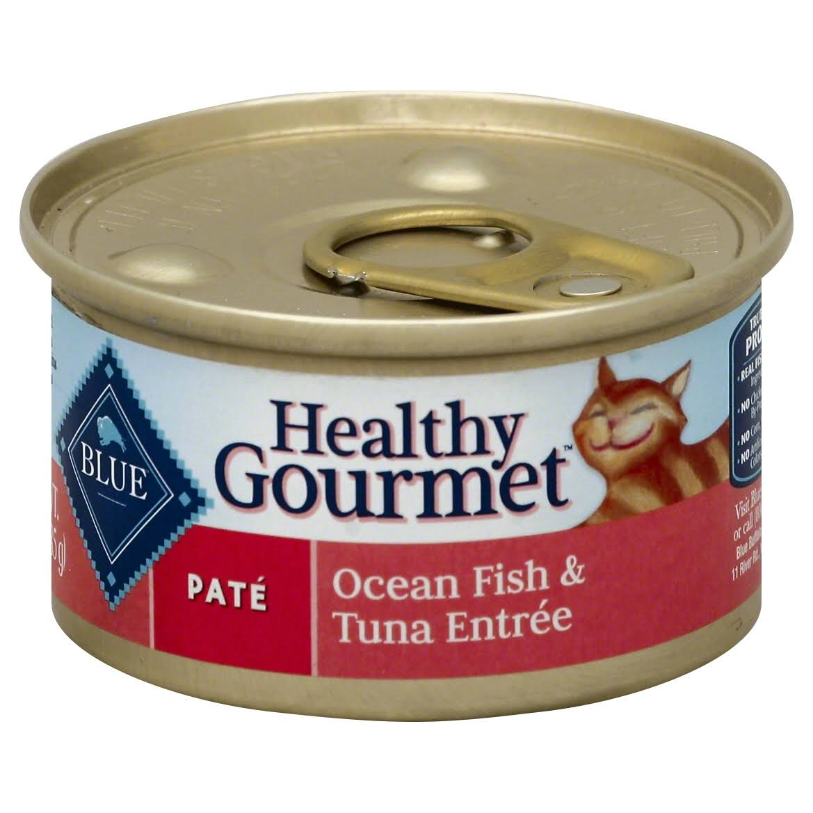 Blue Buffalo Healthy Gourmet Pate Cat Food - Ocean Fish & Tuna Entree