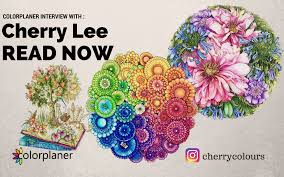 Today Colorplaner Presents You An Interview With Cherry LeeRead A Lovely And Heartwarming Story Adult ColoringColoring BooksMalaysiaBook