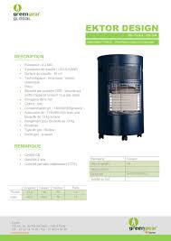 chauffage d appoint au gaz butane butagaz ektor design 4200 watts chauffage d appoint gaz butane