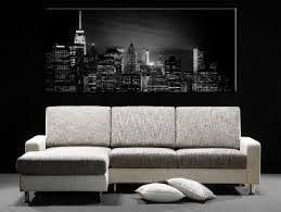 tableaux modernes villes new york londres pas cher hexoa