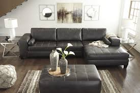 Ashley Furniture Living Room Set For 999 by Nokomis 3 Piece Sectional Living Room Set In Charcoal