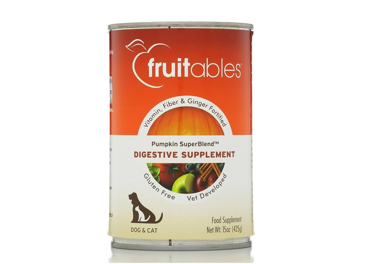 Fruitables Digestive Supplement - Pumpkin SuperBlend, 425g