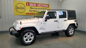 jeep wrangler 5 porte jeep wrangler unlimited for sale in indiana carsforsale