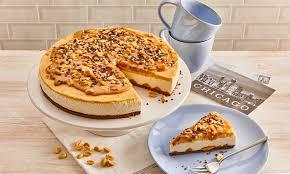 chocolate cheesecake mit erdnusskaramell
