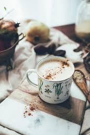 Tazo Pumpkin Spice Chai Latte Nutrition by 4 Ingredient Vegan Chai Latte With Tahini Recipe Via