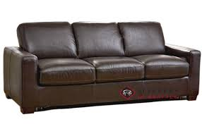 Customize and Personalize Rubicon B534 Queen Leather Sofa by
