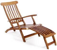 the garden seat bali teak steamer chair