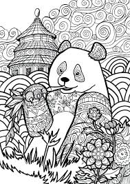 Full Image For Giant Panda Page From My Animal Dreamers Coloring Book Im Working On Printable
