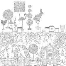 Secret Garden Bir Murekkep Hazine Avi Ve Boyama