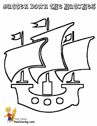 Pirate Ship Pumpkin Stencil by Printable Pirate Ship Template