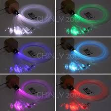 Fiber Optic Ceiling Lighting Kit by 16w Rgbw Rf Remote Twinkle Led Fiber Optic Star Ceiling Light Kit