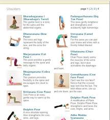 Yoga Journals Website Can Be A Great Resource For Finding Poses That Correspond To An Anatomical