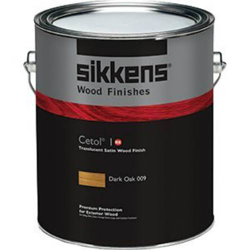 Sikkens Cetol 1 Re Exterior Wood Finish Paint - Dark Oak, 1gal