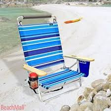 Copa Beach Chair With Canopy by Jgr Copa 5 Pos Shoulder Strap Beach Chair Pillow Red Top