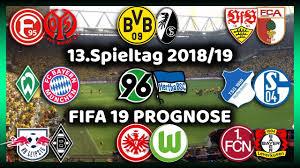 13Spieltag Alle Highlights Und Tore Bundesliga Prognose I FIFA