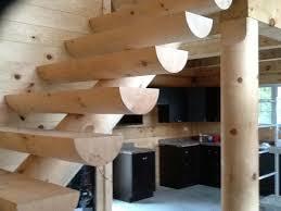 chalet en rondin en kit construction de chalet en bois rond usiné prestige bois rond