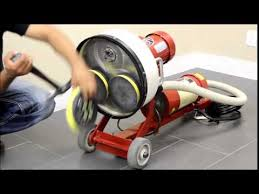 Varathane Floor Sander Machine by How To Replace A Grommet Style Sander Pad On An Ezv Sander Youtube
