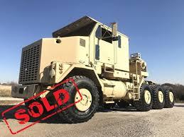100 Midwest Truck Equipment Oshkosh M1070 8x8 HET Military Heavy Haul Tractor