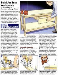easy workbench plans u2022 woodarchivist