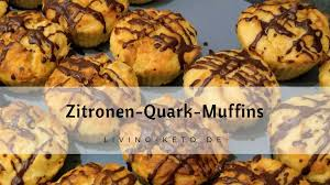 zitronen quark muffins
