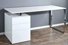 bureau blanc laqué bureau blanc avec tiroir bureau bureau design blanc laque avec 2