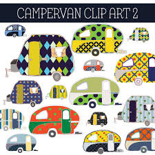 Camper Clipart Campervan 12
