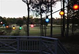 large bulb string lights lighting