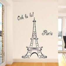 Wall Art Designs Eiffel Tower Decor La Ooh Paris Bedroom