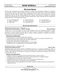 Resume Sales Examples Inside Best Example Maintenance Outside Representative