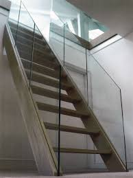 Little Venice: Oak Loft Staircase With Glass Balustrade At Zigzag ... Stairs Dublin Doors Floors Ireland Joinery Bannisters Glass Stair Balustrades Professional Frameless Glass Balustrades Steel Studio Balustrade Melbourne Balustrading Eric Jones Banister And Railing Ideas Best On Banisters Staircase In Totally And Hall With Contemporary Artwork Banister Feature Staircases Diverso 25 Balustrade Ideas On Pinterest Handrail The Glasssmith Gallery