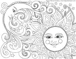 Coloring Pages Adults For Online Free Adult Android Mandala Intricate