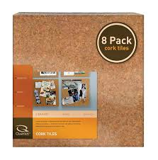 quartet cork tiles 12 x 12 cork board bulletin