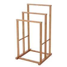 bambus 80x42x27cm mendler handtuchhalter hwc b74 badezimmer