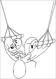 Diddl Relaxing Coloring Page