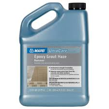 Ceramic Tile Haze Remover by Mapei Cleaners Mapei Ultracare Epoxy Grout Haze Remover 1 Gal