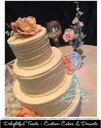 Fake Rustic Wedding Cake Three Tier Vintage Custom With Horizontal