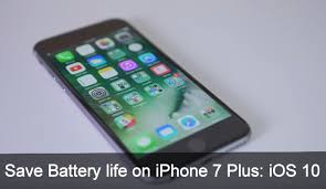 7 Tricks to Improve Battery Life on iPhone 7 Plus iPhone 7 iOS