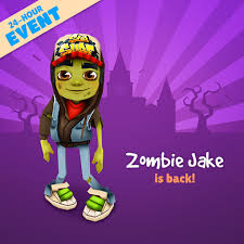 Subway Surfers Halloween Download Free by Zombie Jake Subway Surfers Wiki Fandom Powered By Wikia