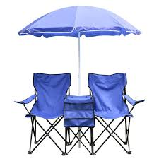 Quik Shade Max Chair by Amazon Com Goplus Portable Folding Picnic Double Chair W