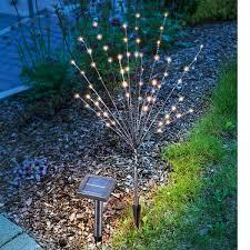 LED solar outdoor decorative light light bush