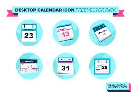 icone bureau icône de calendrier de bureau pack vector gratuit téléchargez de