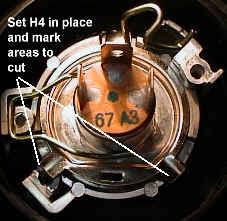 make real h4 bulbs fit your honda motorcycle