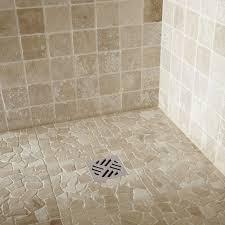 salle de bain galet