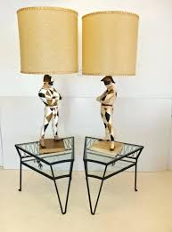 Harley Davidson Lamps Target by Harlequin Lamp Shades Monumental Pair Of Lamps By For Sale At 3 Jpg