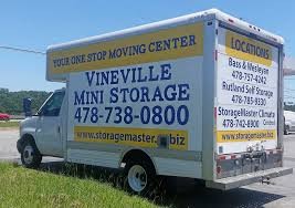 Middle GA Moving Truck Rentals - StorageMaster