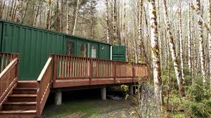 100 Cargo Container Cabins Its Like A Modern Urban Flat Out In The Forest Made From
