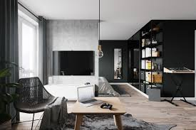 100 Warsaw Apartments Small Apartment Interior In Poland 009 On Behance